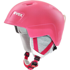 UVEX Manic Pro Helm Kinder pink met